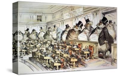 Cartoon: Anti-Trust, 1889