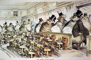Cartoon: Anti-Trust, 1889 by Joseph Keppler