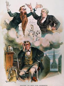 Cartoon: Panic Of 1893 by Joseph Keppler