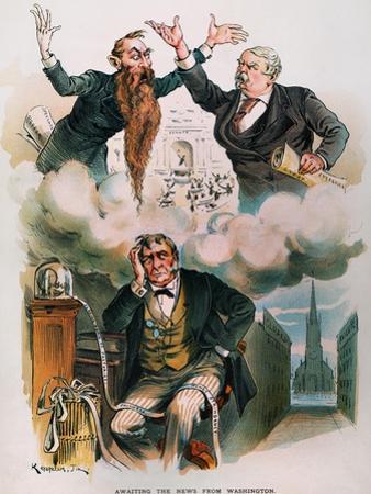Cartoon: Panic Of 1893