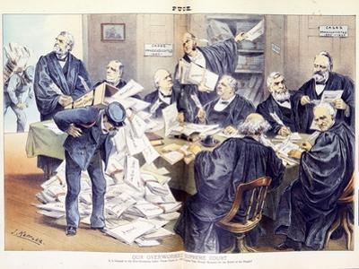 Our Overworked Supreme Court: it Is Unequal to the Ever-Increasing Labor Thrust Upon it - Will Cong