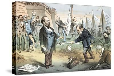 The Appomattox of the Third Termers - Unconditional Surrender, 1880
