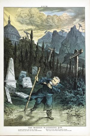 The Modern Wandering Jew, 1880