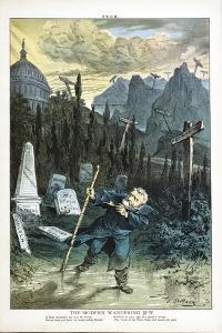 The Modern Wandering Jew, 1880 by Joseph Keppler