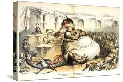 The Opening of the Congressional Session, 1887