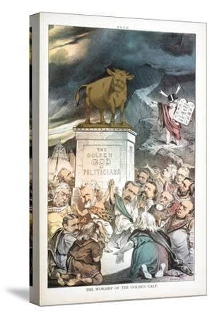 The Worship of the Golden Calf, 1880