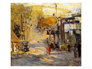 Park Avenue, Old Laguna by Joseph Kleitsch