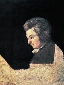 Wolfgang Amadeus Mozart by Joseph Lange
