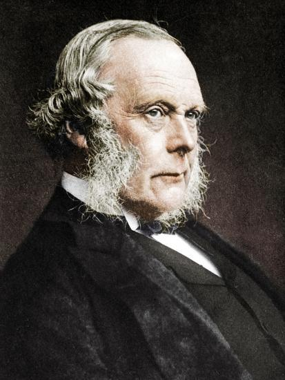 Joseph Lister, English surgeon and pioneer of antiseptic surgery, c1890-Unknown-Photographic Print