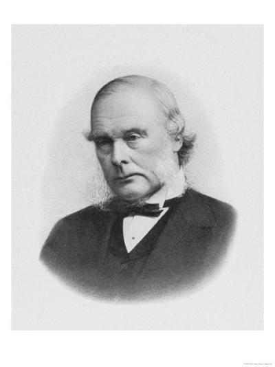 Joseph Lister English Surgeon Medical Scientist and Founder of Antiseptic Surgery--Giclee Print