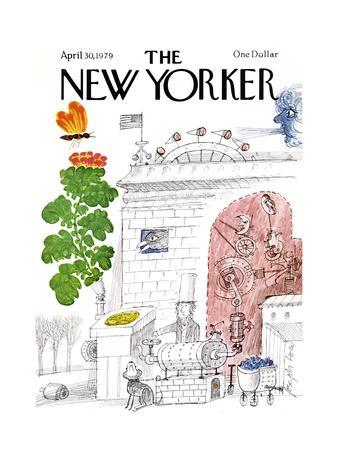 The New Yorker Cover - April 30, 1979