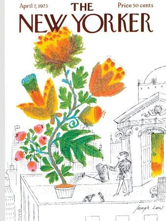 The New Yorker Cover - April 7, 1973