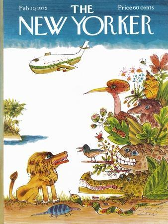 The New Yorker Cover - February 10, 1975