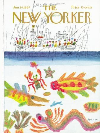 The New Yorker Cover - January 14, 1967