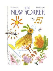 The New Yorker Cover - May 2, 1977 by Joseph Low