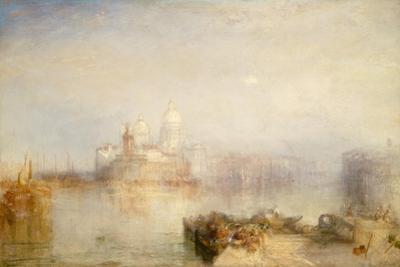 Dogana and Santa Maria Della Salute, Venice, 1843