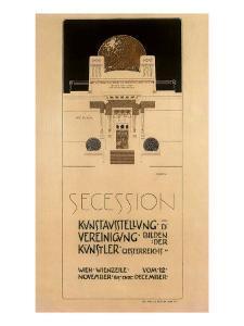 Secession, c.1897 by Joseph Maria Olbrich