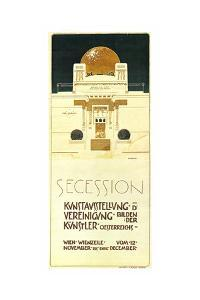 Secession Exhibition Of United Artists by Joseph Maria Olbrich