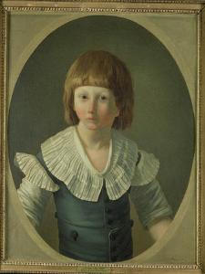 Louis XVII (1785-95) Aged 8, at the Temple, 1793 by Joseph Marie Vien