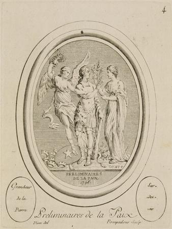 Suite d'estampes d'après les pierres gravées de Guay graveur du Roi (1711-1