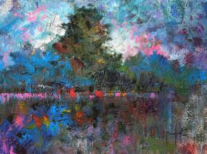 Blue Landscape by Joseph Marshal Foster
