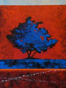 Blue Tree by Joseph Marshal Foster