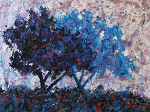 Blue Trees by Joseph Marshal Foster
