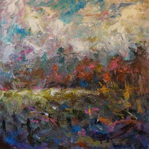 Nestled Trees by Joseph Marshal Foster