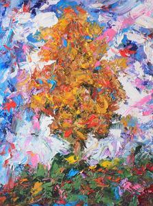 Orange Tree II by Joseph Marshal Foster
