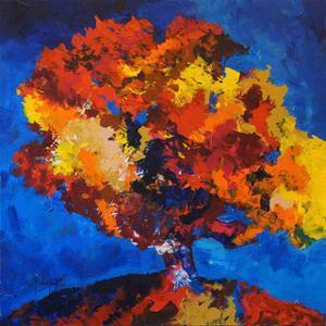 Orange Tree by Joseph Marshal Foster
