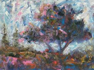 Pastel Tree II by Joseph Marshal Foster