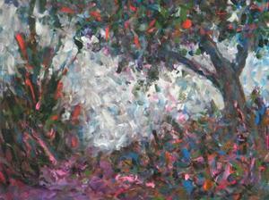 Pastel Tree III by Joseph Marshal Foster
