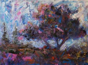 Pastel Tree by Joseph Marshal Foster