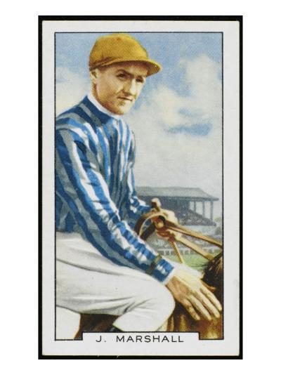 Joseph Marshall, Jockey, in the Colours of Mrs C Rich--Giclee Print