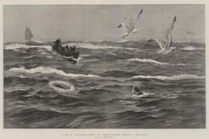 A Man Overboard in Southern Seas, Saved! by Joseph Nash