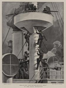 At the Naval Manoeuvres by Joseph Nash