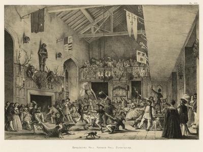 Banqueting Hall, Haddon Hall, Derbyshire