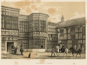 Bramhall Hall, Cheshire by Joseph Nash