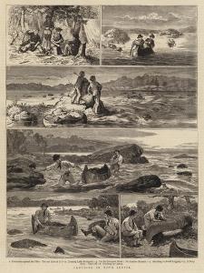 Canoeing in Nova Scotia by Joseph Nash