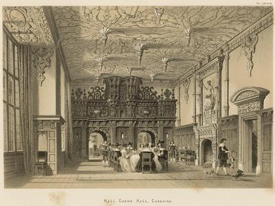 Hall, Crewe Hall, Cheshire