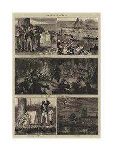 Henley Regatta by Joseph Nash