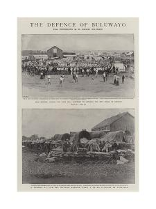 The Defence of Buluwayo by Joseph Nash