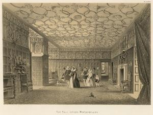 The Hall, Levens, Westmoreland by Joseph Nash