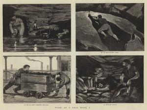 Work at a Coal Mine, I by Joseph Nash