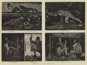 Work at a Coal Mine, II by Joseph Nash
