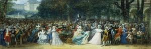 Camille Desmoulins (1760-1794) au Palais Royale by Joseph Navlet