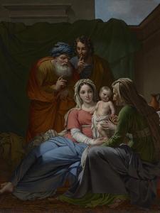 The Holy Family, c.1820 by Joseph Paelinck