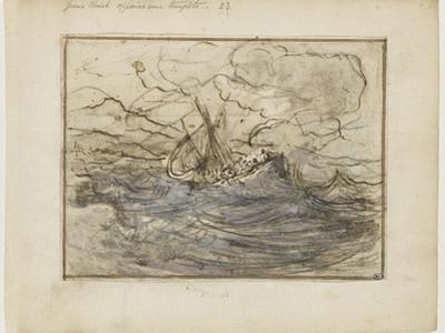 Jésus apaise la tempête by Joseph Parrocel