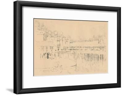 Auto-Lithograph by J. Pennell, C1877-1898, (1898)