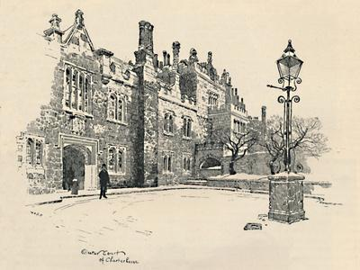 'Old Charterhouse: The Master's Court', 1886